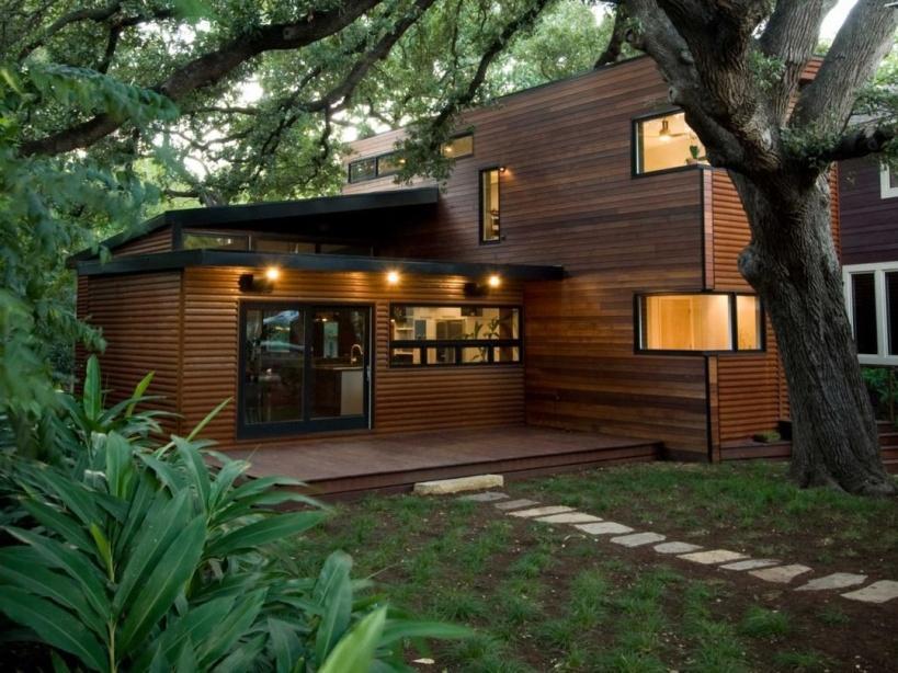 Desain Rumah Kayu Minimalis Modern Handayani S Blog